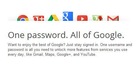 One Password for Google